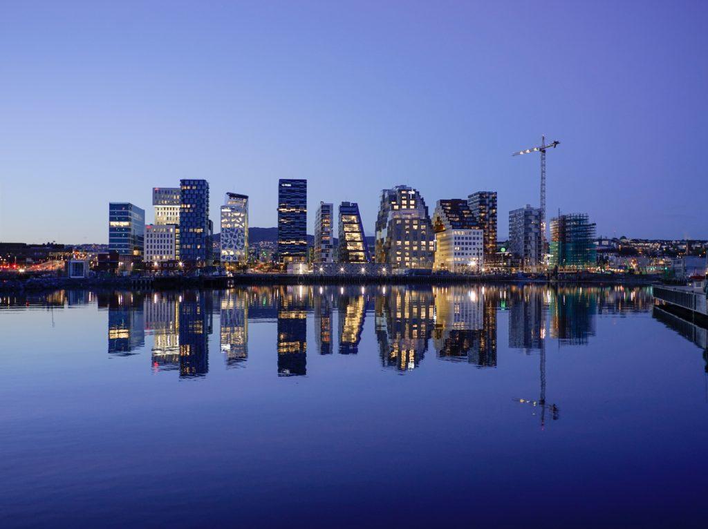 Vistas del skyline de Oslo